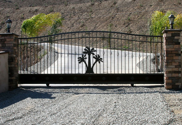 Lake Arrowhead Sliding Driveway Gate Repair