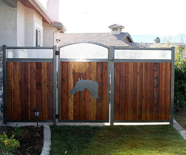 Fallbrook Custom Designed Walkway Gates